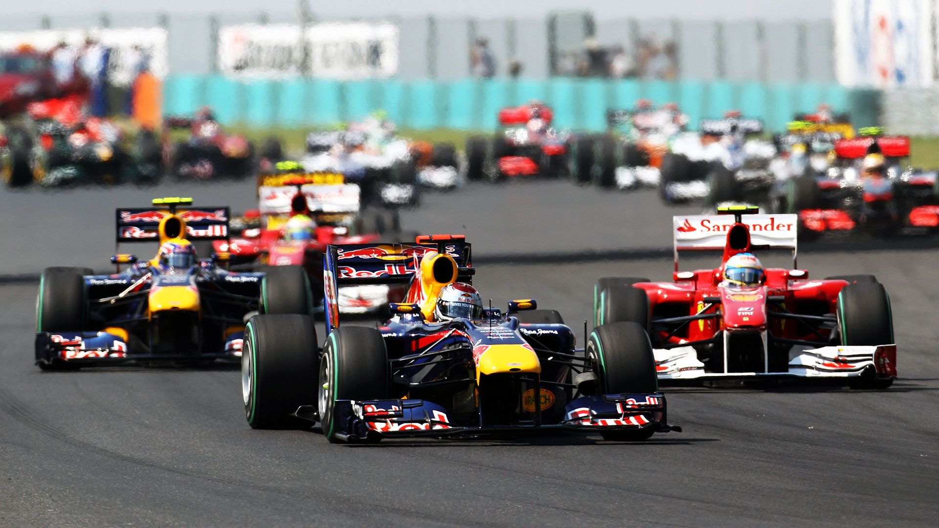 hd wallpapers 2010 formula 1 grand prix of hungary | f1-fansite