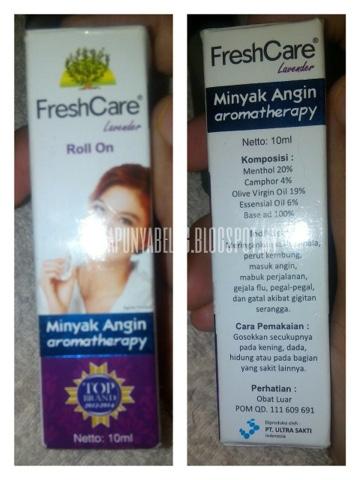 Minyak Angin Aromaterapi FRESHCARE.
