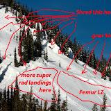A handy diagram of the terrain.