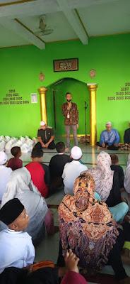 Darul Aytam DKM Nurul Huda Gabus Pabrik  Dan BAZ Mandiri Cabang Bekasi Berbagi Di Tengah Pandemi Wabah Covid -19