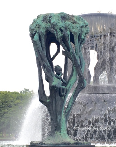 Норвегия, Осло, Парк скульптур Вигеланда