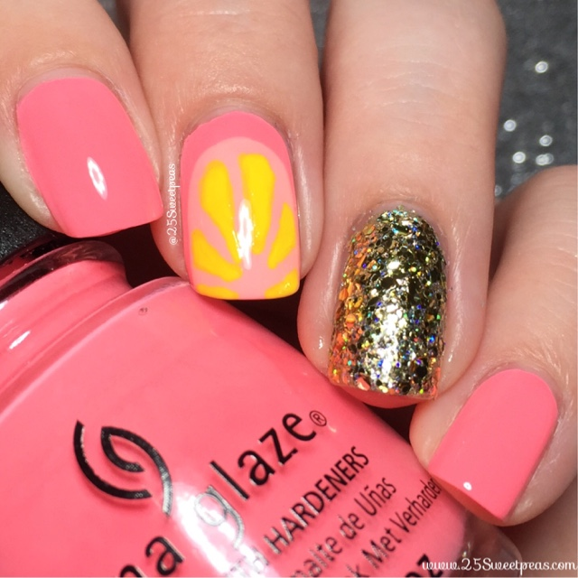 Kelli Marissa Did Some Super Cute Pink Lemonade Nails That I Just Had To Put My Own Twist On No Doesn T Actually Come From Lemons But