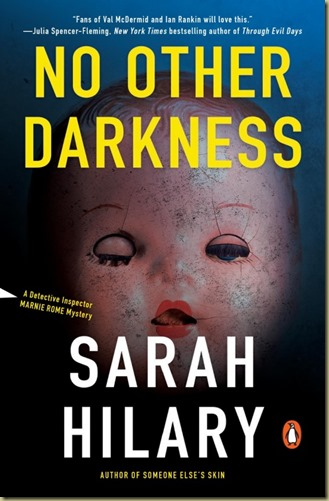 No Other Darkness by Sarah Hilary - Thoughts in Progress