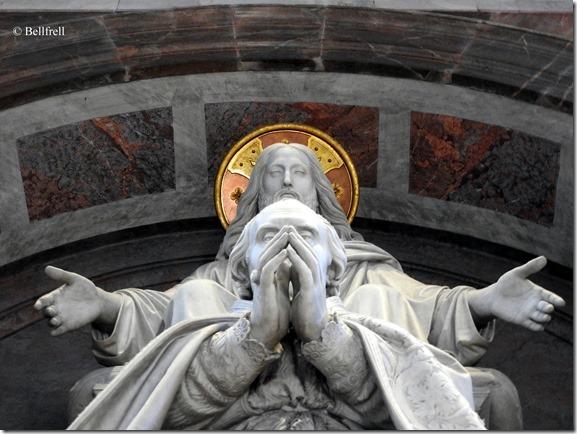 Über der Sakristei San Pietro