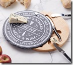 Cheeseboard and knife set