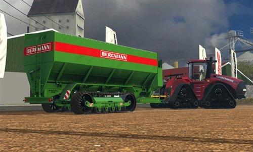 Farming simulator 2015 - Bergmann GTW Tracks v 1.0