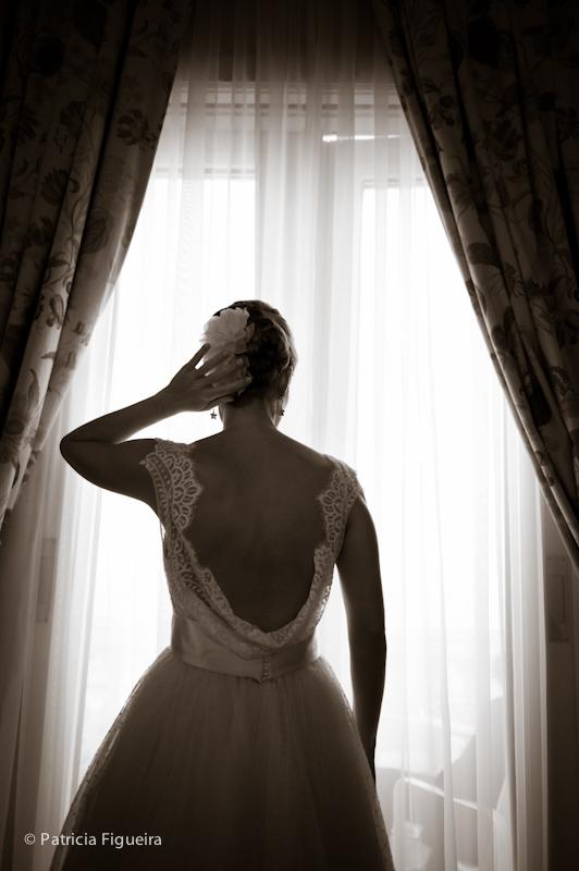 Foto de casamento 0165pb de Ana e Joao. Marcações: 29/10/2011, Casamento Ana e Joao, Fotos de Vestido, Lethicia Bronstein, Rio de Janeiro, Vestido, Vestido de Noiva.