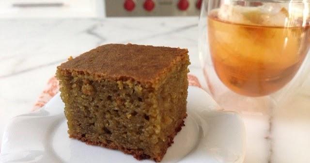 Coconut Matcha Mochi Cake