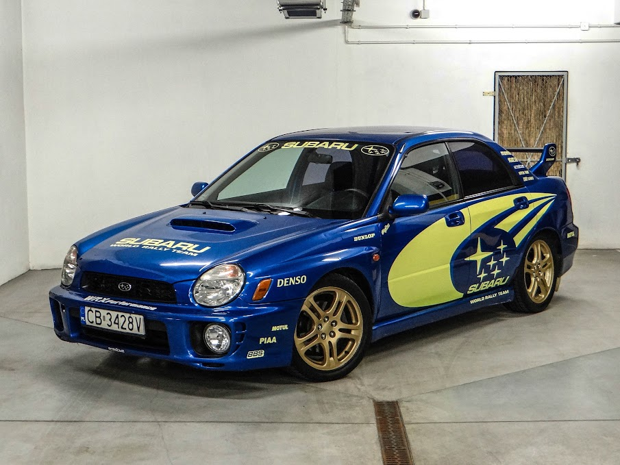 01 Impreza WRX BugEye Rally Style By Arnold