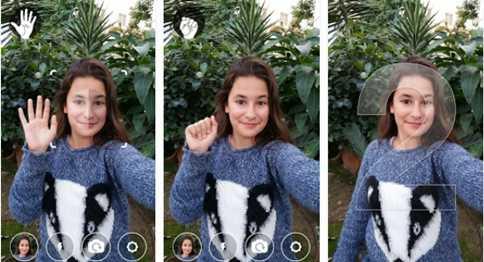 Teknologi yang dimiliki sistem operasi Android Cara Foto Selfie Menggunakan Telapak Tangan di Android
