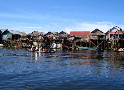 Cambodia Tours, Cambodia Travel - Kampung Phluk village