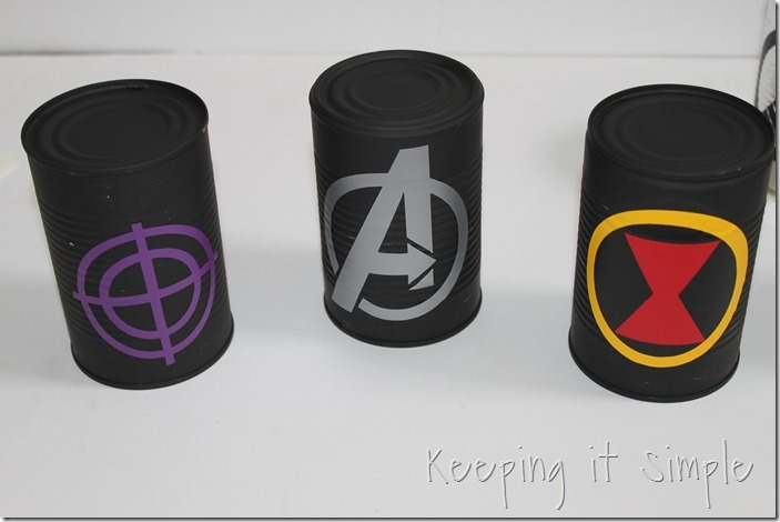 #ad Avengers-Halloween-Party-Game-Bowling-Cans #AvengersUnite (7)