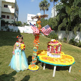 USA - Flower festival celebrations for Pre-Primary on 04/11/2016.