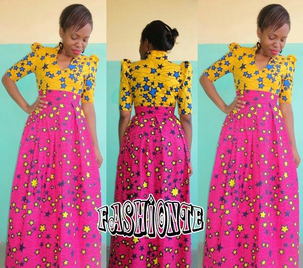 8d2141343 Latest Kitenge Dress Designs   Best Fashion for African woman ...