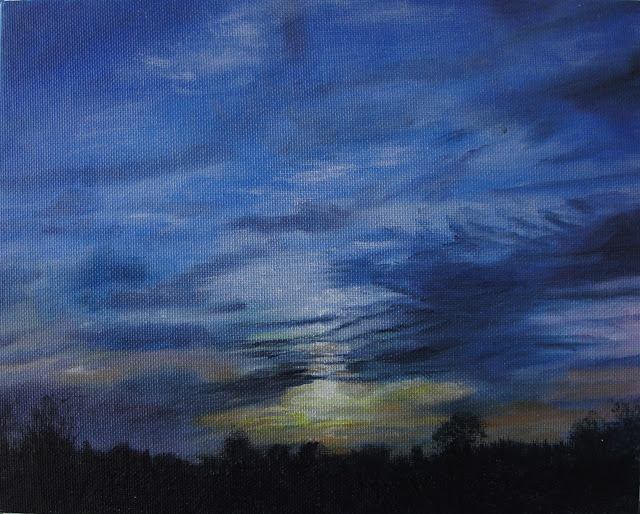 Twilight Sky 5 - Original Painting