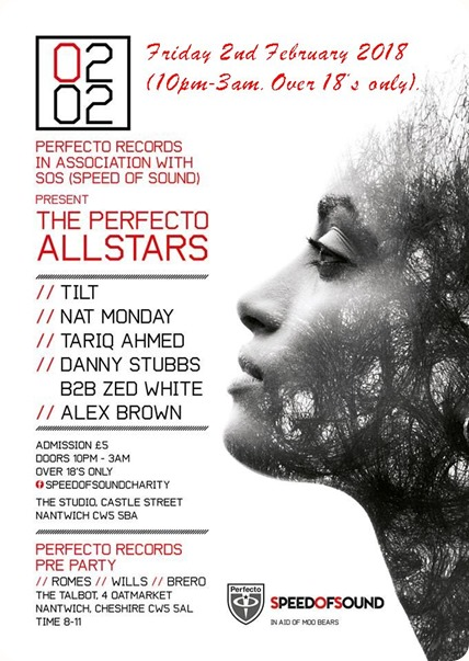 The Perfecto Allstars fund-raising  concert 2-2-18