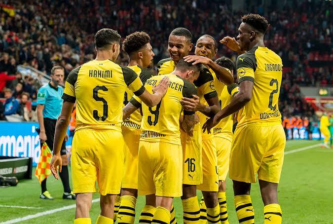 German giants Borussia Dortmund beat Udinese. PHOTO   SKY SPORTS