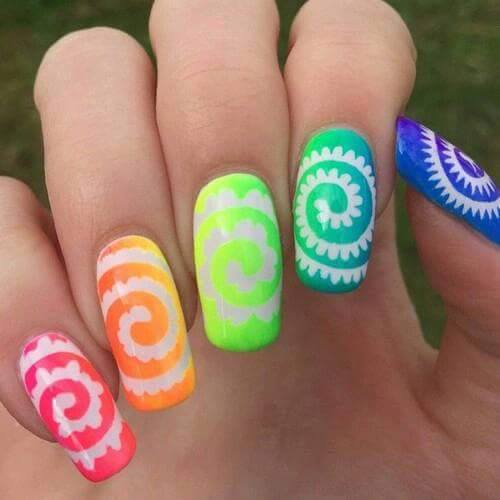 Awesome Nail Art: Cool Easy Nail Art Ideas 2016