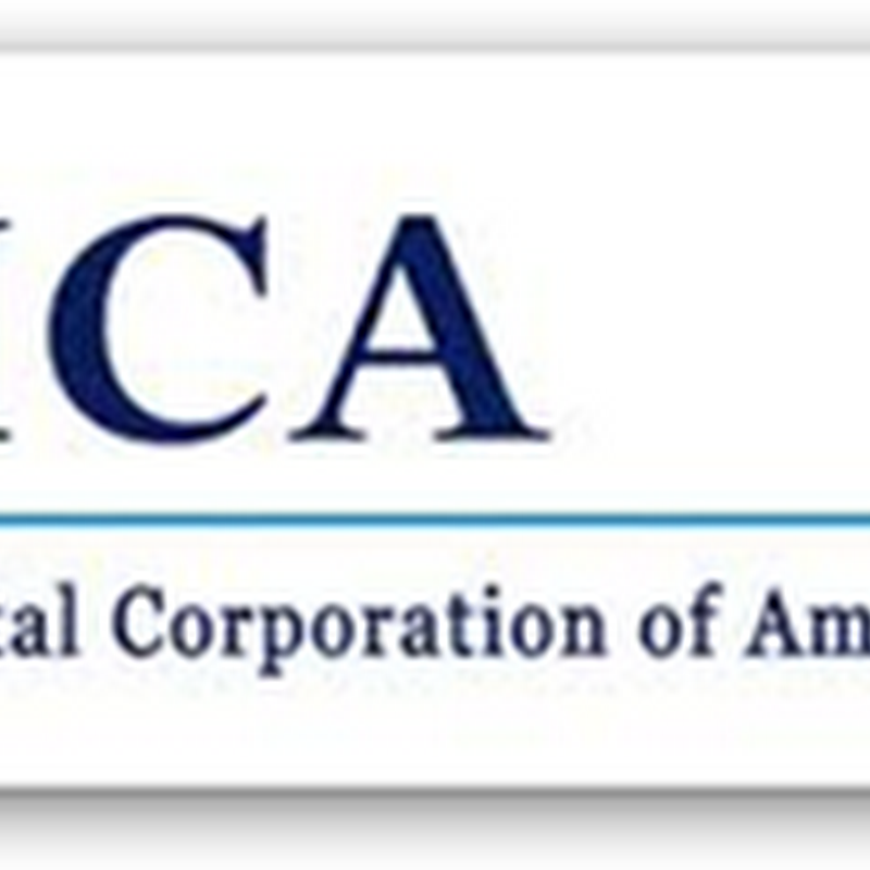For Profit Hospitals Like Stock Buy Backs Too–HCA Buying Back $7.7 Billion Worth of Shares Over 3 Years…
