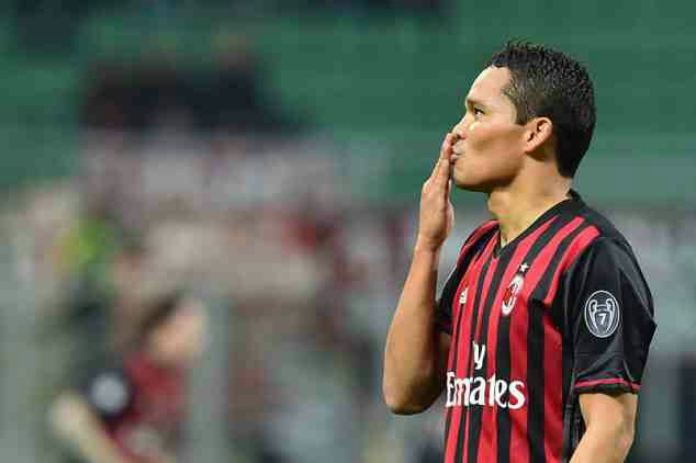 Carlos Bacca leaves AC Milan to join Villarreal on season-long loan