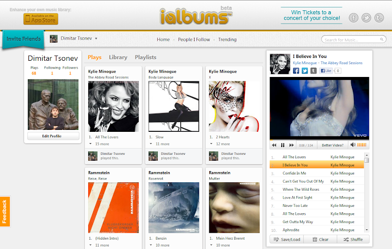 iAlbums Play