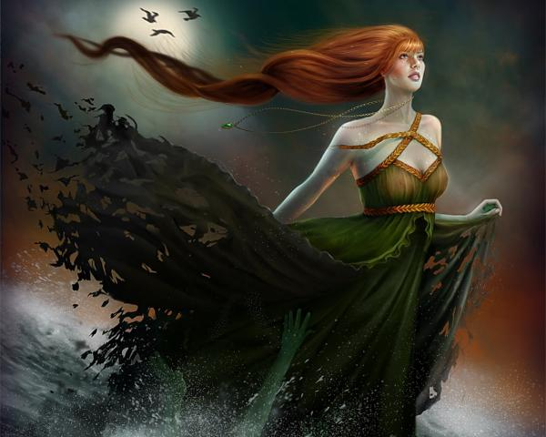 Girl Of Green Waters, Gothic