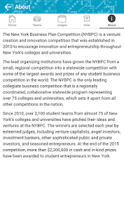NY Business Plan Competition- screenshot thumbnail