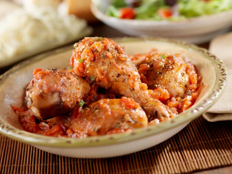 Italian Chicken & Sauce