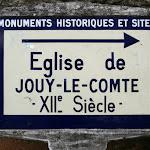 Panneau Eglise de Jouy-le-Comte
