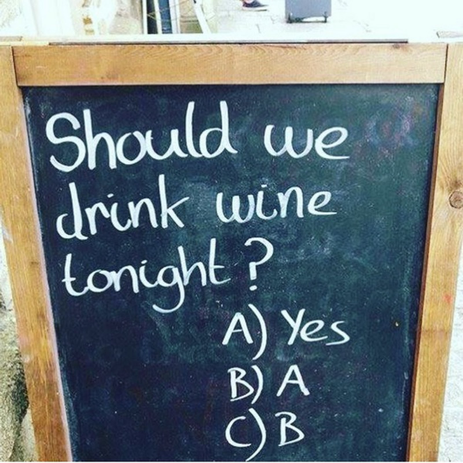 Weekend Wine Humor - Wine tonight?