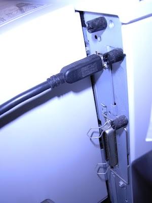 RICOH IPSION SP4000 背面のパネル