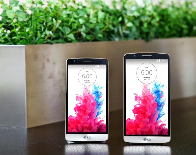Lg g3 and lg g3 beat