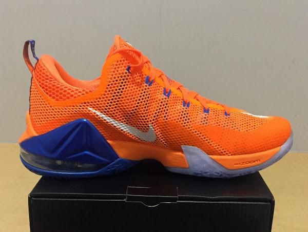 Closer Look at Nike LeBron 12 Low Bright Citrus