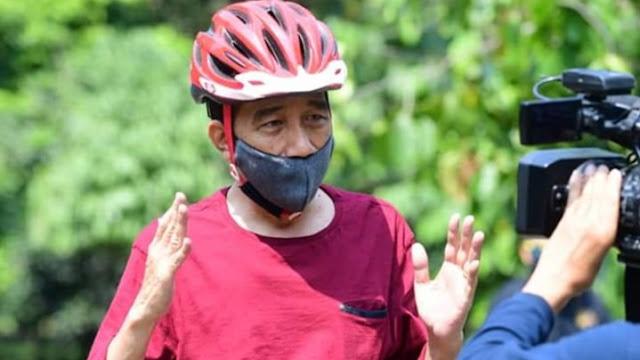 Foto: Presiden Jokowi. Hasil Uji Swab Presiden JokowiNegatif.