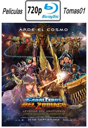 Los Caballeros del Zodiaco: La leyenda del santuario (2014) BRRip 720p