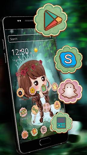 Princess Cute Theme HD 1.1.5 screenshots 2