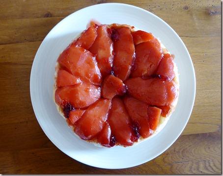 poached quince tarte tatin7