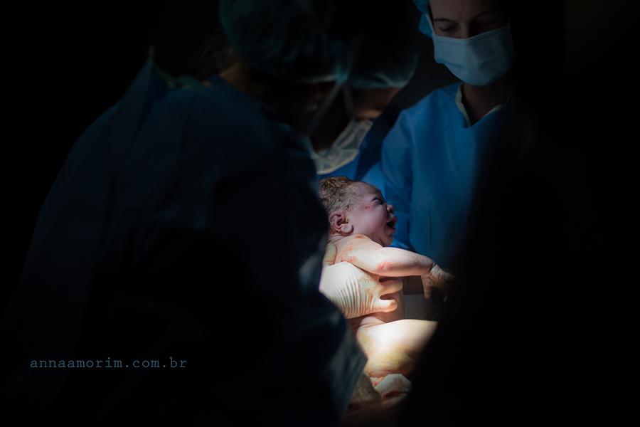 Fotografia Parto Humanizado Hospitalar