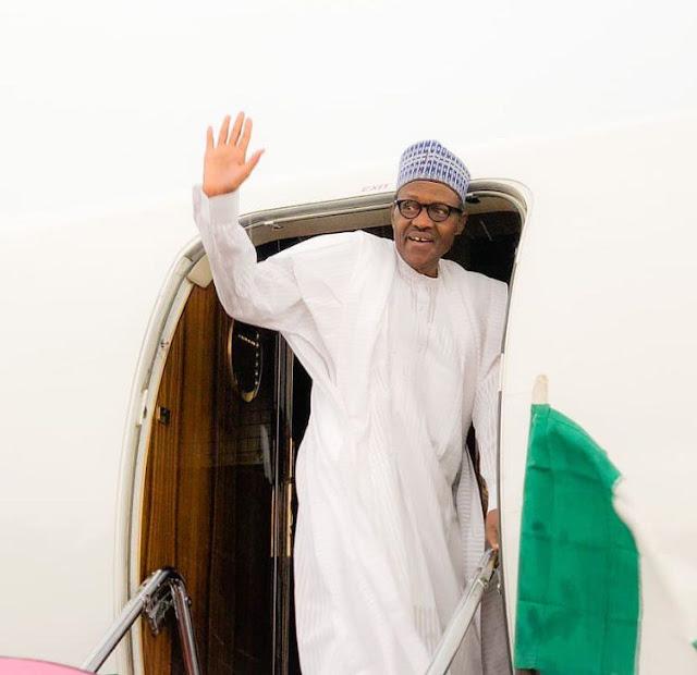 buhari-departs-for-london-monday
