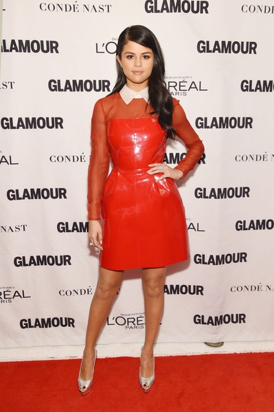 Selena Gomez attends 2015 Glamour Women Of The Year Awards