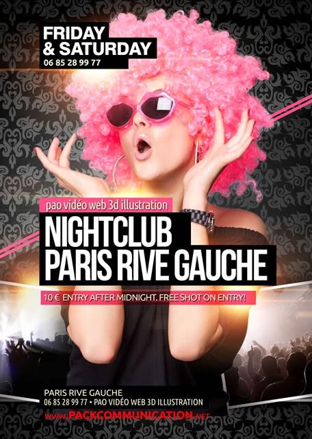 flyer soirée thème Nightclub PRG Scalari 1a