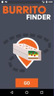 Burrito Finder - náhled