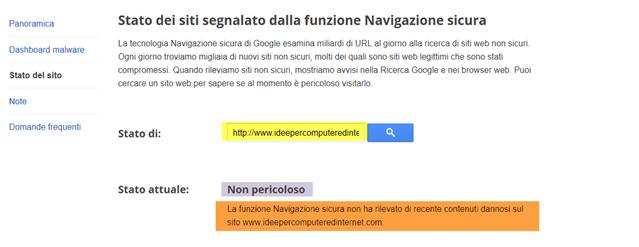 navigazione-sicura-google