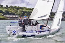 J/70 North Sails winning Cowes Week Short Series
