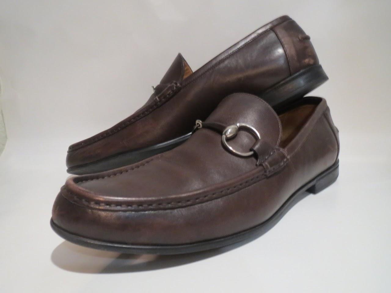 Gucci Mocha Loafers