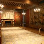 Château d'Ecouen : grande salle du roi