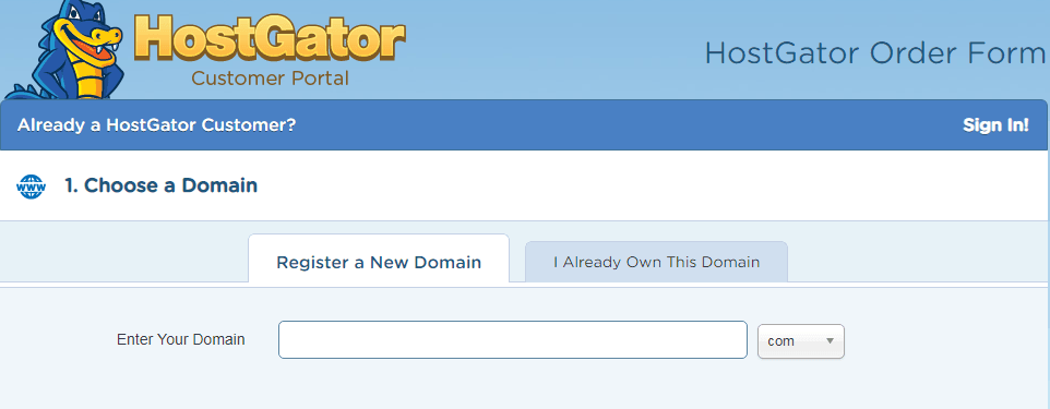 Get your free domain with Hostgator and start a blog