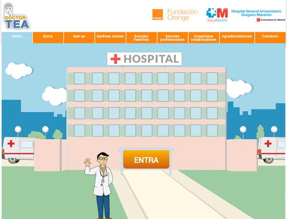 Nueva web del Hospital Gregorio Marañón dirigida a personas con autismo