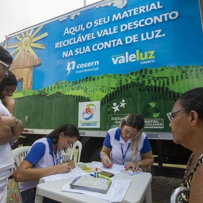 Cosern lança aplicativo para ajudar consumidores a trocar resíduos recicláveis por desconto na conta de energia