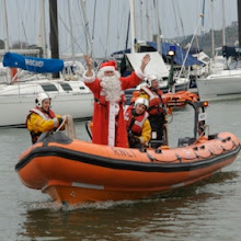 Santa arrives at the Royal Cork